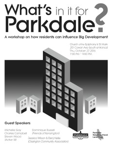 whats-in-it-for-parkdale-poster