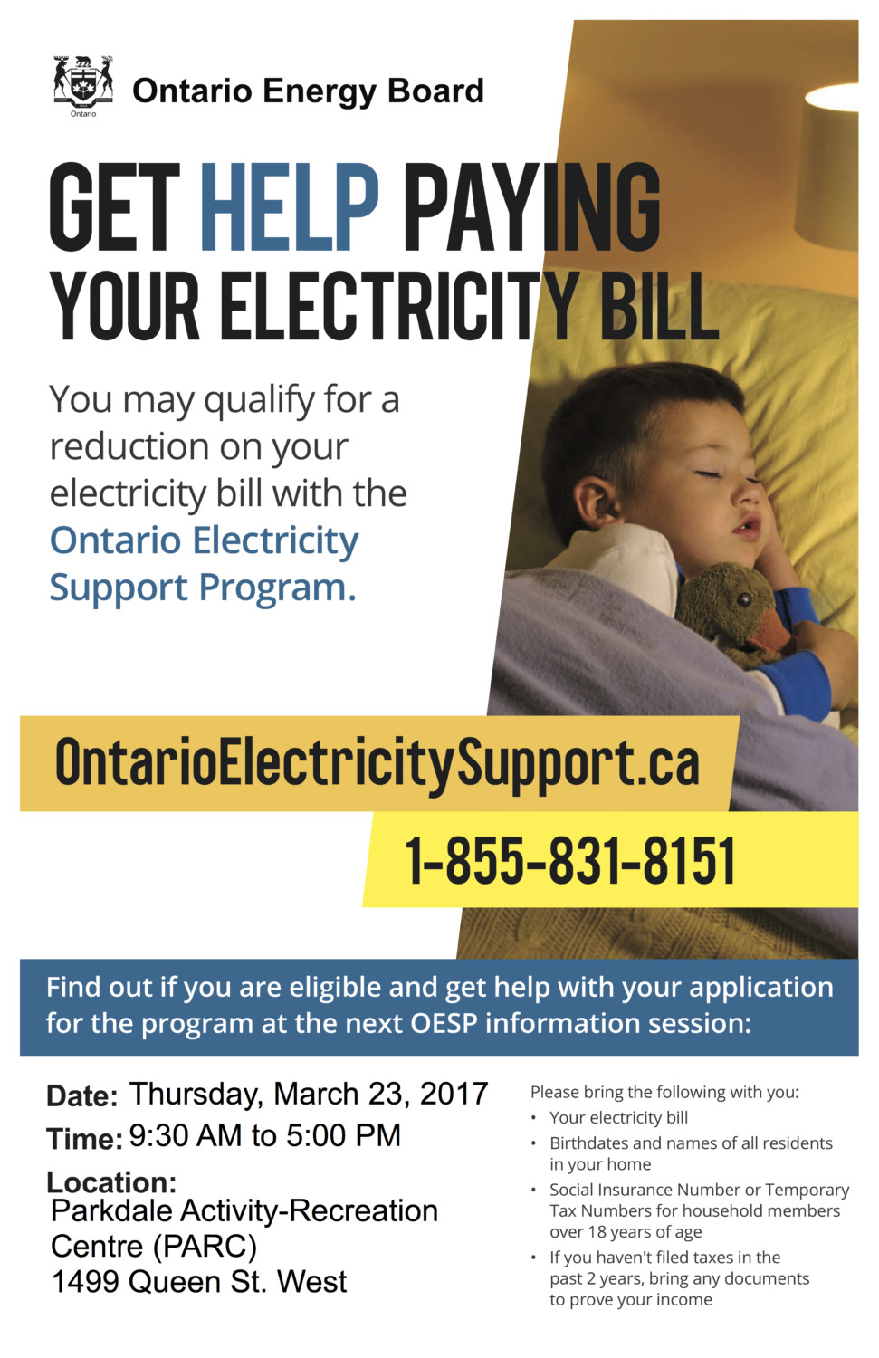 get help paying your electric bills | parkdale residents association